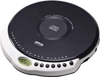 Silva Schneider MCD 30 Bærbar CD-afspiller CD, CD-R, CD-RW, MP3 Grå