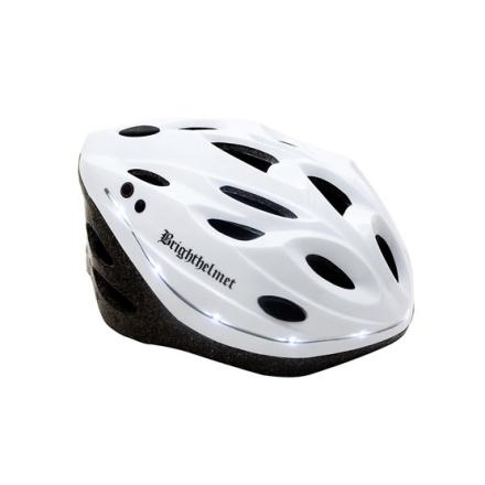 Brighthelmet Cykelhjälm - Bianco