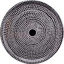 Fokus tarjotin pyöreä musta