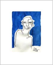 Human Blue av Anna Mörner