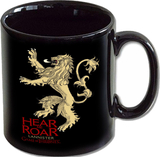 Game of Thrones - Lannister Crest Black - Mug