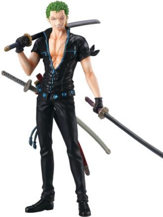 One Piece - Zoro - Gold Styling Movie Collection