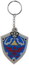 Legend of Zelda - Hyrulian Crest Rubber Keychain