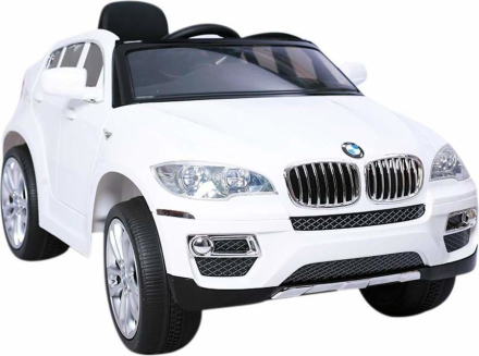 HECHT BMW X6 WHITE SAMOCHÓD TERENOWY ELEKTRYCZNY AKUMULATOROWY AUTO JEŹDZIK POJAZD ZABAWKA DLA DZIECI + PILOT - EWIMAX OFICJALNY DYSTRYBUTOR - AUTORYZOWANY DEALER HECHT