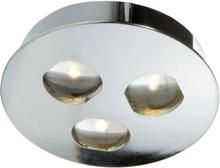 Beirut LED 3W IP43 (Färg: Silver)
