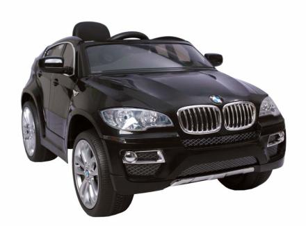 HECHT BMW X6 BLACK SAMOCHÓD TERENOWY ELEKTRYCZNY AKUMULATOROWY AUTO JEŹDZIK POJAZD ZABAWKA DLA DZIECI + PILOT - EWIMAX OFICJALNY DYSTRYBUTOR - AUTORYZOWANY DEALER HECHT
