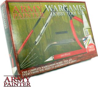 Army Painter Wargames Hobby Tool Kit Komplett verktøysett til miniatyrer