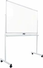 FTI - Whiteboard på hjul ECO 90×150 cm, hvid