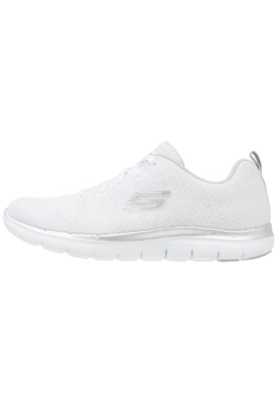 Skechers Sport FLEX APPEAL 2.0 Joggesko white/silver