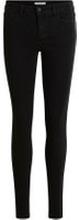 VILA Stretchiga Skinny Fit-jeans Kvinna Svart