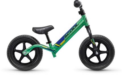 s'cool pedeX race light Løbecykel Børn grøn 2019 Løbecykler