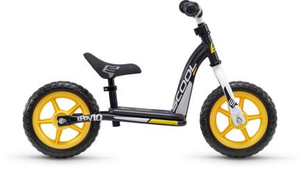 s'cool pedeX easy 10 Løbecykel Børn sort 2019 Løbecykler