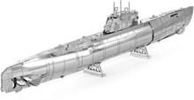 Metal Earth - Fordon, Tysk U-båt Typ XXI - Modellbyggsats i metall
