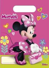 Minnie Mus Godteposer - 6 stk