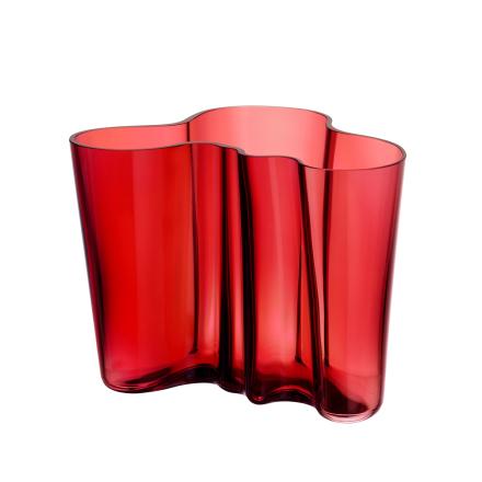 Alvar Aalto vase tranebær 160 mm