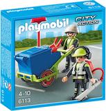 Renhĺllningsteam, Playmobil (6113)