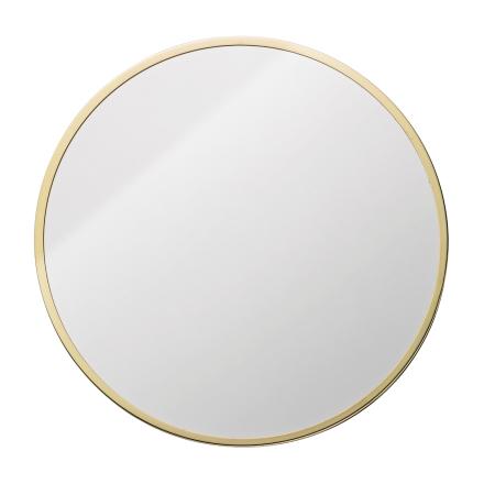 Bloomingville peili pyöreä kulta