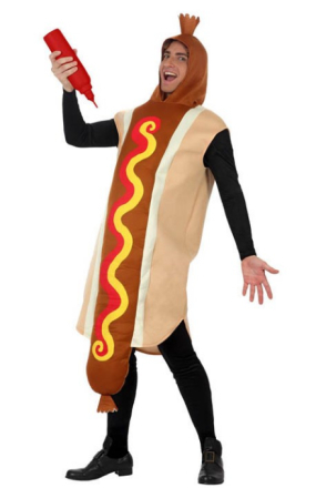Kostume hotdog voksen - Vegaoo.dk