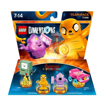 LEGO Dimensions: Team Pack - Adventure Time /Toys for games