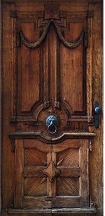 Scandinavian Artstore Dörrtapet - Luxury Door - 80x210 cm