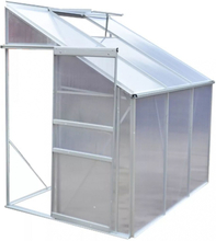 Drivhus i aluminium til vegg