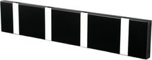 Loca Knax vaatenaulakko 40 cm musta-harmaa