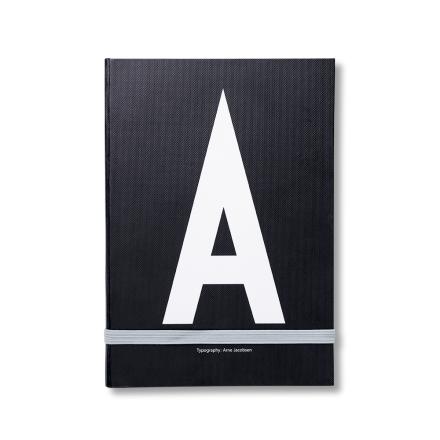 Design Letters personlig notatbok A
