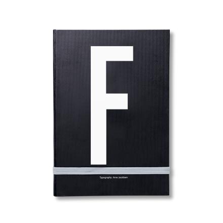 Design Letters personlig notatbok F