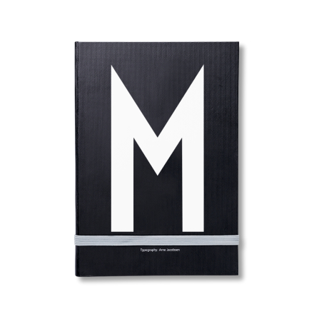 Design Letters personlig notatbok M