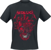 Metallica - Heart Skull -T-skjorte - svart
