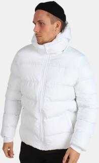 Urban Classics Hooded Boxy Puffer Jakke White
