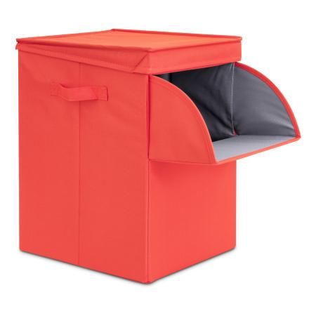 Brabantia pinottava pyykkikori 35 litraa punainen