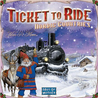 Ticket To Ride, Nordic Countries, Sällskapsspel (SE/FI/NO/DK)