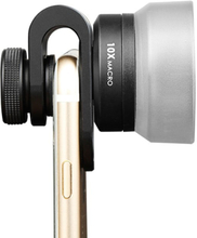 Mobil objektivmakro 10x 25mm