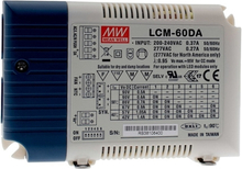 Mean Well LED Driver 500-1400mA 60W