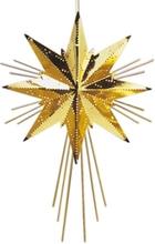 Julstjärna i metall Mini Luxe 36cm