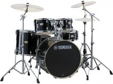 Yamaha Stage Custom Birch SBP0F5RBL Raven Black + Hw680W