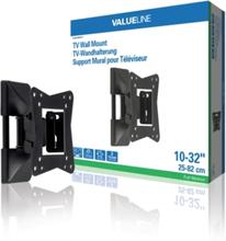 Helt rörligt TV-väggfäste 10 - 32 tum/25 - 82 cm 30 kg
