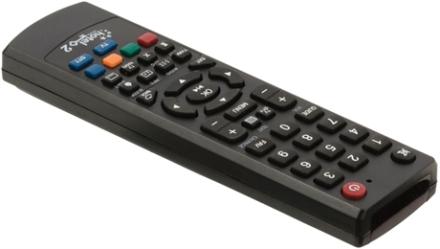 Universalfjärrkontroll för hotell programmerbar via PC