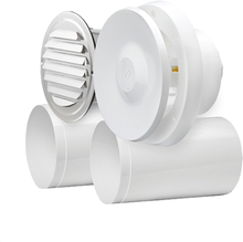 K2 Tilluftspaket med termostat