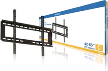 Fast TV-väggfäste 42 - 65 tum/107 - 165 cm 45 kg