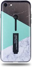 Modeskal med fingerhållare till iPhone 7/8 med marmor i tre olika motiv