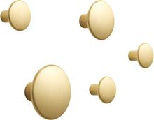 The Dots ripustin metalli 5 kpl messinki