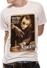T-Shirt BATMAN THE DARK KNIGHT - MAGIC TRICK (UNISEX)