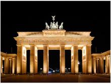 Fototapet - Pariser Platz med Brandenburger Tor, Berlin - 200x154 cm