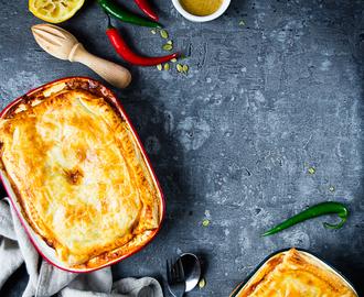 recipe: zapiekanka makaronowa z mięsem mielonym i pieczarkami [18]