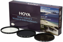 HOYA Filterkit UV(C) Pol.Circ. NDx8 62mm.