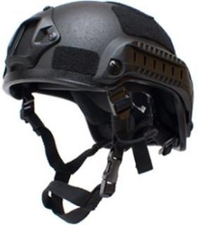 Mich 2001, taktisk hjelm - Svart