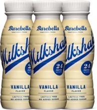 Barebells Milkshake Vanilla (3stk 330ml)