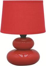 Malmbergs Bordslampa Rocky Röd